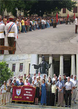ESTUDIANTES CUBANOS SE PREPARAN PARA LA DEFENSA DE LA PATRIA