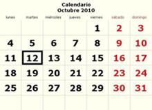 OCTUBRE 2010, EL DÉCIMO FELIZ