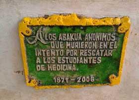 ÑÁÑIGOS CAÍDOS EL 27 DE NOVIEMBRE DE 1871