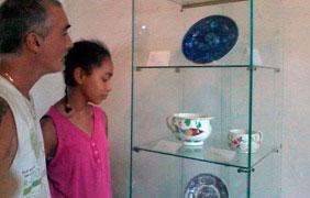 CERÁMICA INGLESA DEL SIGLO XVIII EN MUSEO CAPITALINO